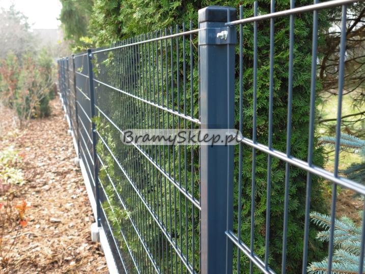 Wspaniały Panele ogrodzeniowe 6/5/6 - 1,43 m - Antracyt - Ogrodzenia RB73