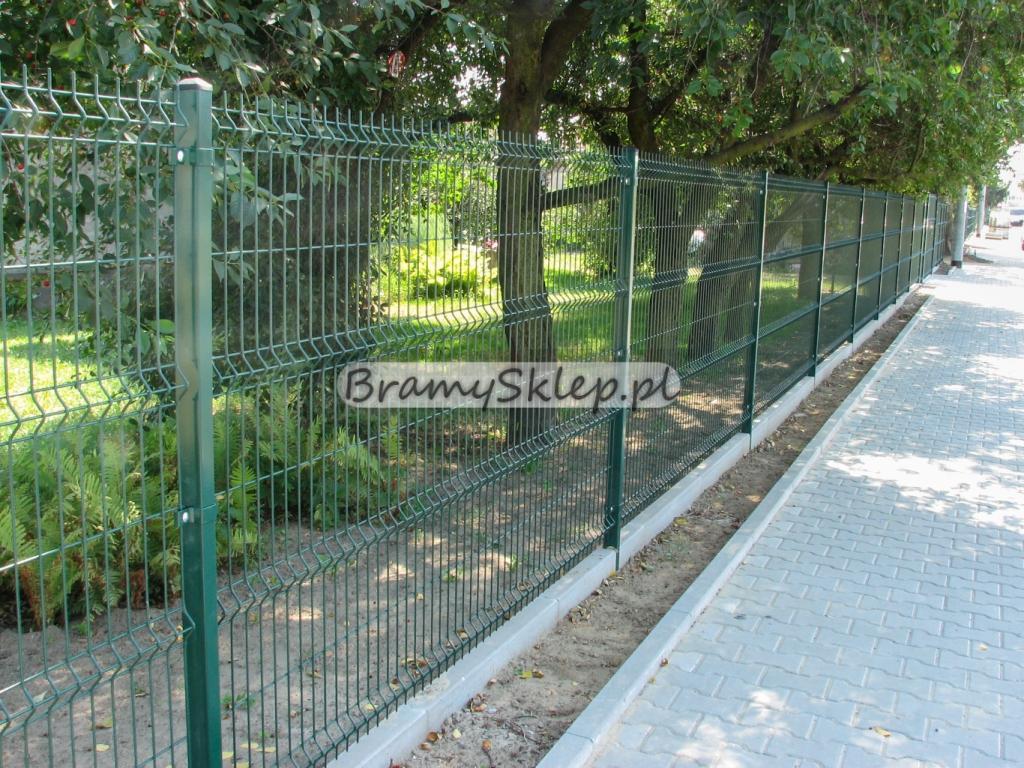 Bardzo dobryFantastyczny Panele ogrodzeniowe 250cm/203cm/4mm - Zielone - Ogrodzenia VZ81