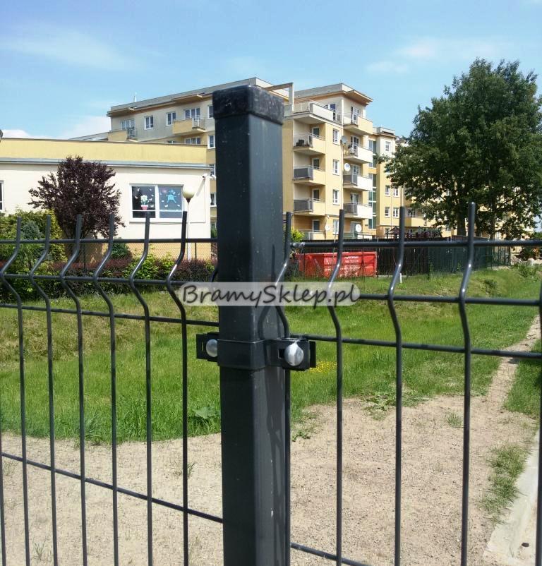 Chwalebne BramySklep.pl - słupki ogrodzeniowe do paneli, słupki ogrodzeniowe PI07