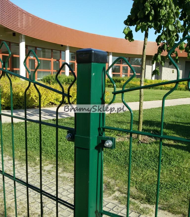 Oryginał BramySklep.pl - słupki ogrodzeniowe do paneli, słupki ogrodzeniowe IP83