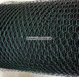 f306e94745e0bc Siatka izola zielona - oczko 13x13mm wysokość 1,5m - Siatka ...